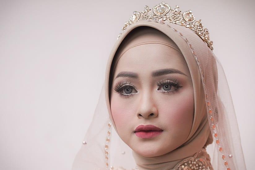 Make Up Pernikahan Hijab Nasional